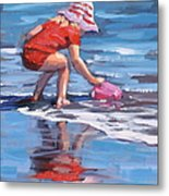 Summer Fun Metal Print by Laura Lee Zanghetti