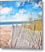 Summer Time Metal Print by Gina Cormier