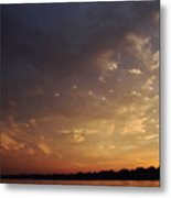 Sun Settles On Connecticut Metal Print by Karol Livote