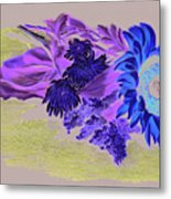 Sunflower Metal Print by Vanda Luddy