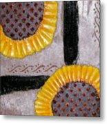 Sunflowers Metal Print by Terry Honstead
