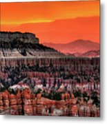 Sunrise At Bryce Canyon Metal Print by Photography Aubrey Stoll