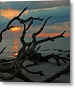 Sunrise At Driftwood Beach 2.2 Metal Print by Bruce Gourley
