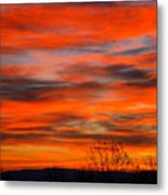 Sunrise In Ithaca Metal Print by Paul Ge