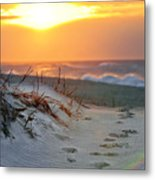 Sunrise Rainbow Metal Print by Vicki Jauron