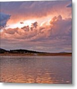 Sunset At Carter Lake Colorado Metal Print by James Steele