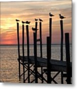 Sunset Bay 27 Metal Print by Joyce StJames