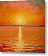 Sunset Metal Print by John  Nolan