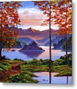 Sunset Reverie Metal Print by David Lloyd Glover