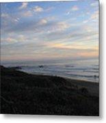 Sunset Surf Metal Print by Linda Woods