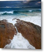 Surfs Up Metal Print by Mike  Dawson