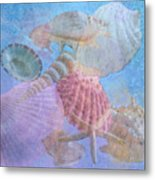 Swept Out With The Tide Metal Print by Betty LaRue