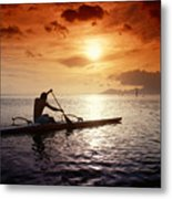 Tahiti, Papeete Metal Print by Joe Carini - Printscapes