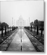 Taj Mahal IIi Metal Print by Nina Papiorek