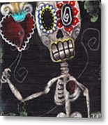 Take My Heart Metal Print by  Abril Andrade Griffith