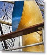 Tall Ship Metal Print by Robert Lacy