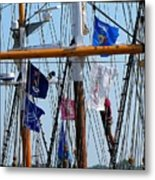 Tall Ship Series 15 Metal Print by Scott Hovind