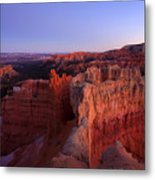 Temple Of The Setting Sun Metal Print by Mike  Dawson