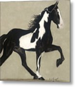Tennessee Walker Metal Print by Gail Finger