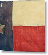 Texas Flag, 1842 Metal Print by Granger
