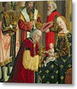 The Adoration Of The Magi Metal Print by Absolon Stumme