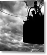 The Adventure Begins  Hot Air Balloon Metal Print by Bob Orsillo