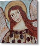 The Angel Of Hope Metal Print by Rain Ririn