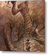 The Angry Hill Metal Print by Ethan Harris