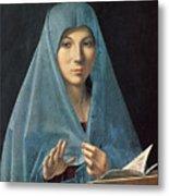 The Annunciation Metal Print by Antonello da Messina