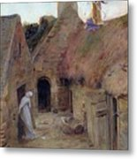 The Annunciation Metal Print by Luc Oliver Merson