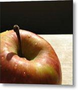 The Apple Stem Metal Print by Kim Pascu