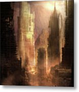 The Arrival Metal Print by Philip Straub