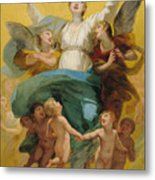 The Assumption Of The Virgin Metal Print by Pierre Paul Prudhon