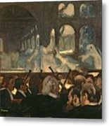 The Ballet Scene From Meyerbeer's Opera Robert Le Diable Metal Print by Edgar Degas