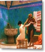 The Bath Metal Print by Pg Reproductions
