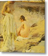 The Bathers Metal Print by Anders Leonard Zorn