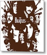 The Beatles No.15 Metal Print by Unknow