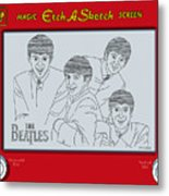 The Beatles Metal Print by Ron Magnes