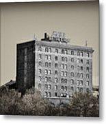 The Bethlehem Hotel Metal Print by Bill Cannon