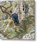 The Blind Leading The Blind Metal Print by Tissot