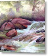 The Brook Metal Print by Patricia Seitz