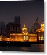 The Bund - More Than Shanghai's Most Beautiful Landmark Metal Print by Christine Till