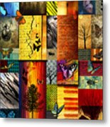 The Butterfly Effect Metal Print by Ramneek Narang