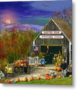 The Campton Farm Metal Print by Nancy Griswold