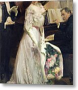 The Celebrated Metal Print by Joseph Marius Avy