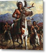 The Chief Metal Print by Harvie Brown