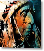 The Chief Metal Print by Paul Sachtleben