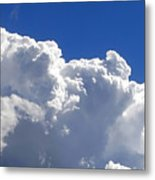 The Cloud Metal Print by Kaye Menner