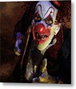 The Clown Metal Print by Mary Hood