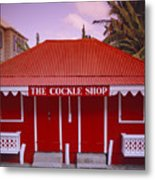 The Cockle Shop Metal Print by Shaun Higson